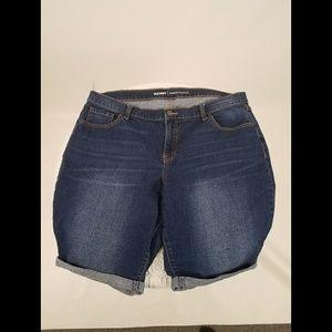 Old Navy Denim Bermuda Shorts
